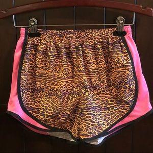 Nike Dri Fit Short Muti Cheetah Print Size Small